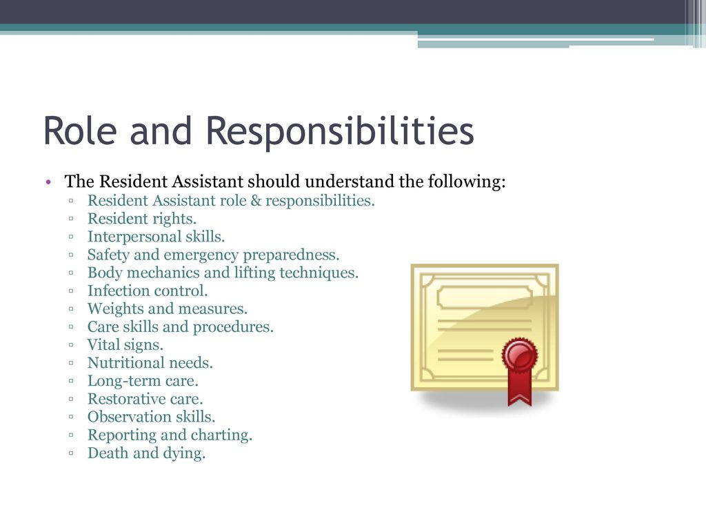 Assisted Living Staff Education Training Module 2 Ppt Download