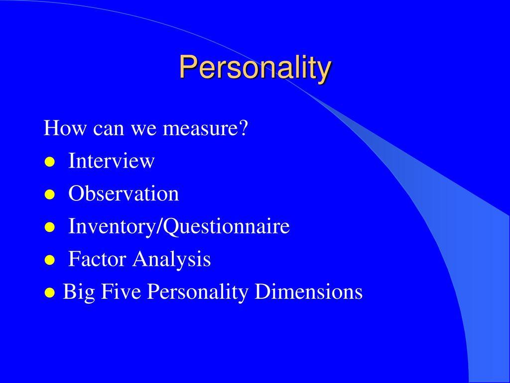 PERSONALITY Dr  AKSHAY KUMAR y Kumar Positive Psychology  - ppt download