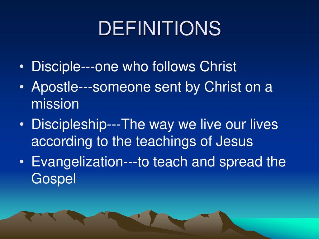 An Examination of the Apostles - ppt download