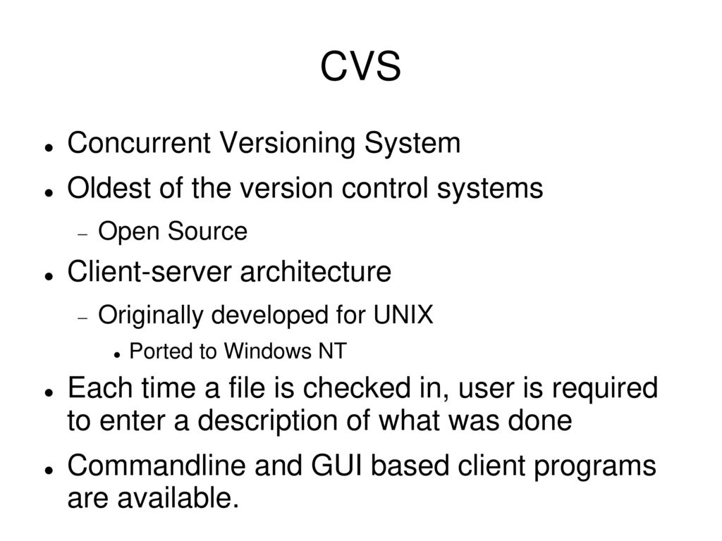 Version Control and Source Cod...