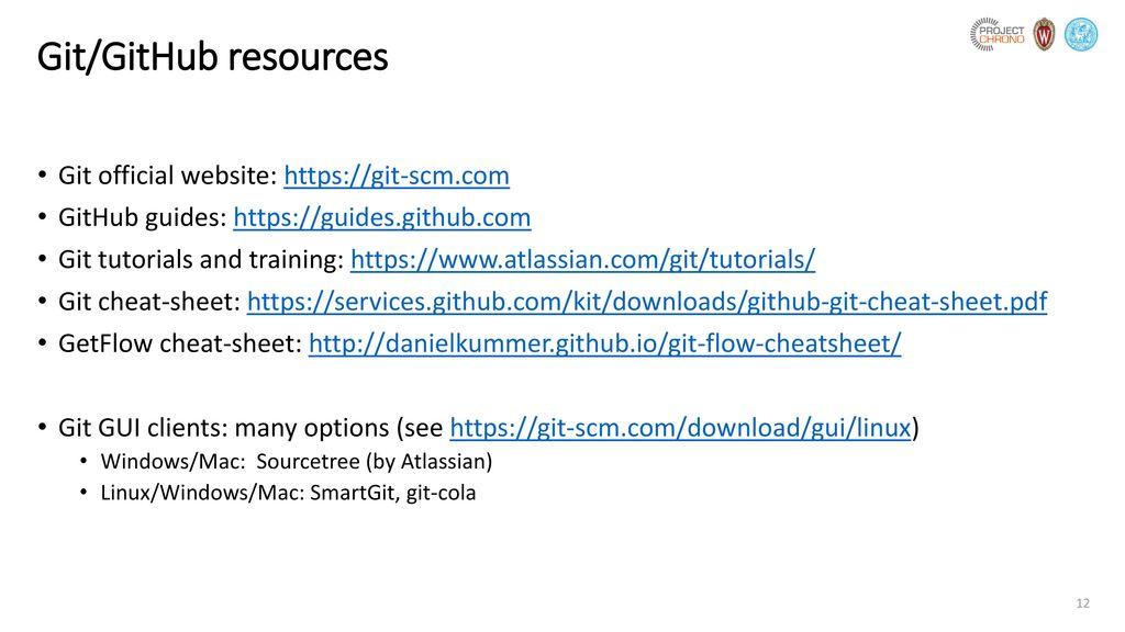 Git and GitHub primer  - ppt download
