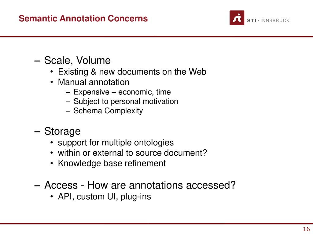 Generating Semantic Annotations - ppt download