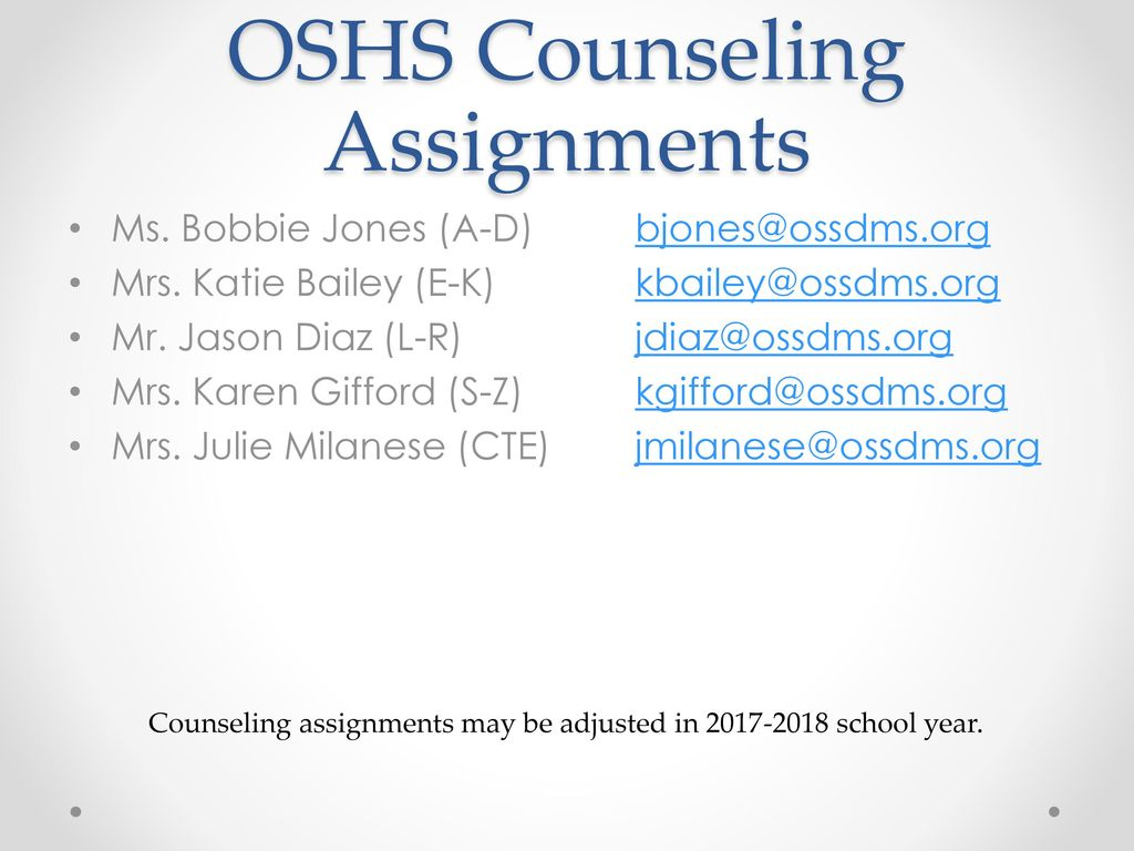 ossdms org Ocean Springs High School - ppt download