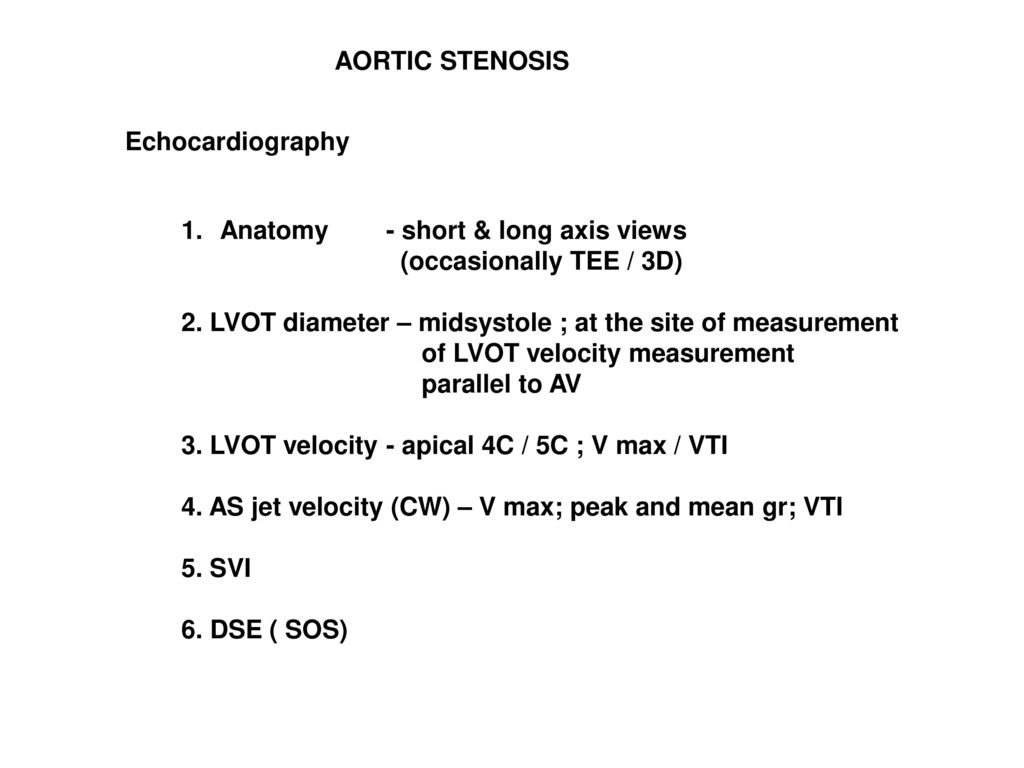 AORTIC STENOSIS. - ppt download