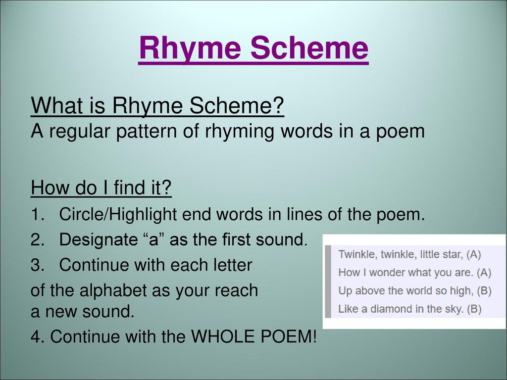 What is rhyme 15