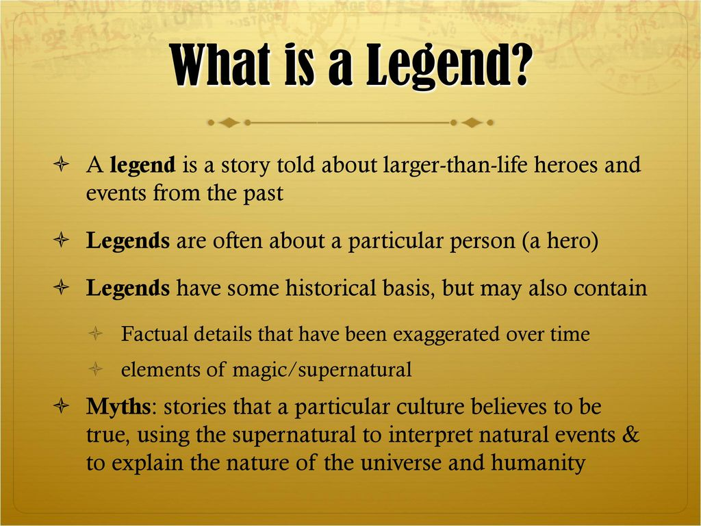 What is a legend 78