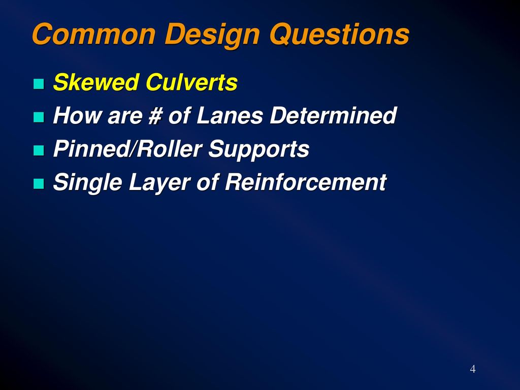Design and Rating of Precast Culverts for LRFD - ppt download