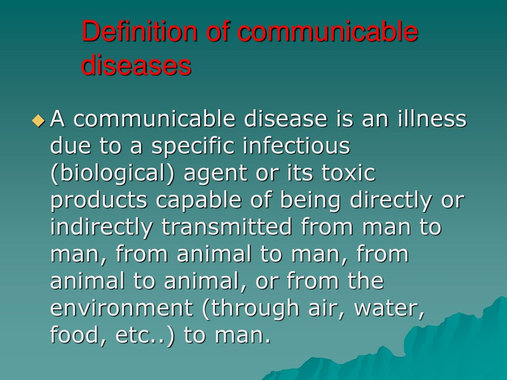 communicable diseases - ppt download