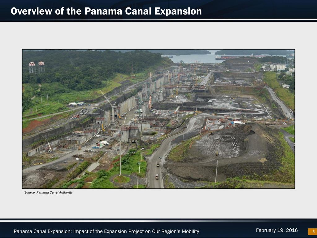 Panama Canal Expansion Ppt Download Process Flow Diagram Overview Of The