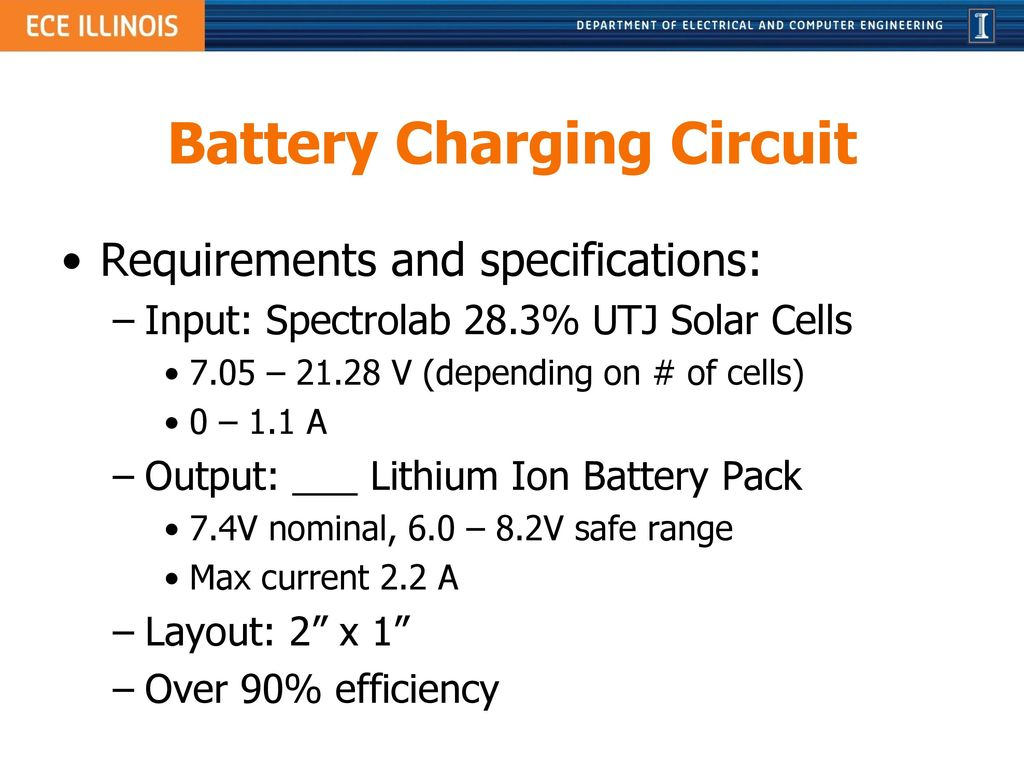 Power Board For Illinisat 2 Project Ppt Download Cell Phone Battery Charger Circuit Charging