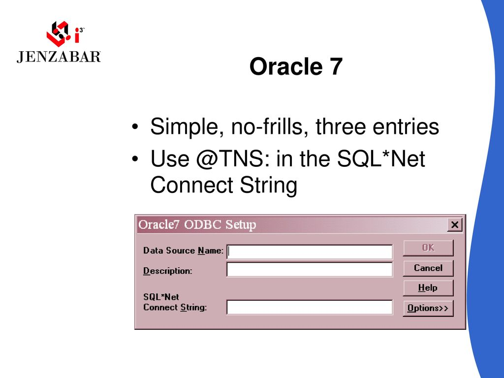 W04 Connecting 3rd Party Application to ODBC - ppt download
