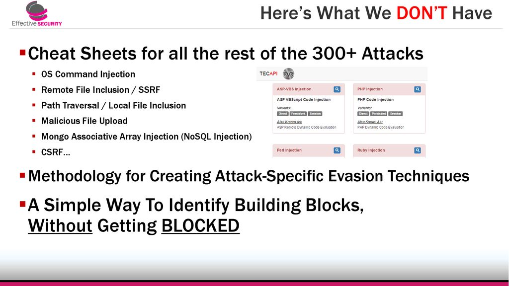 The Unwanted Sons WAF Bypass Methods for the REST of the Top ppt