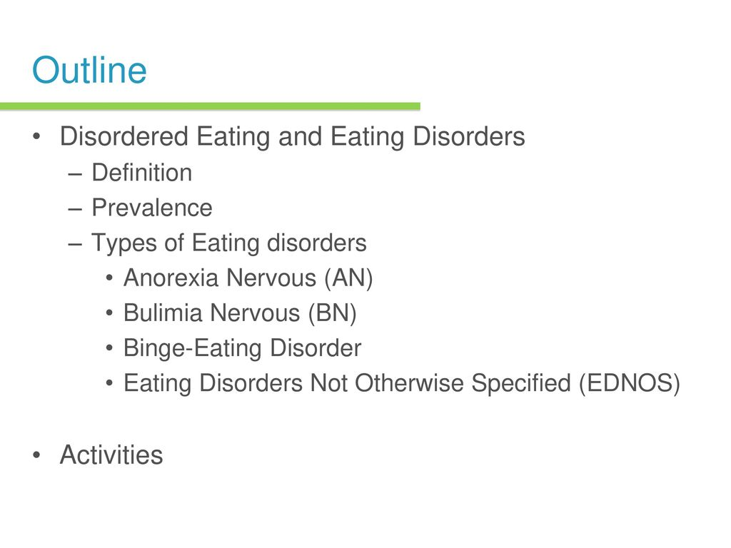 eating disorders chapter ppt download