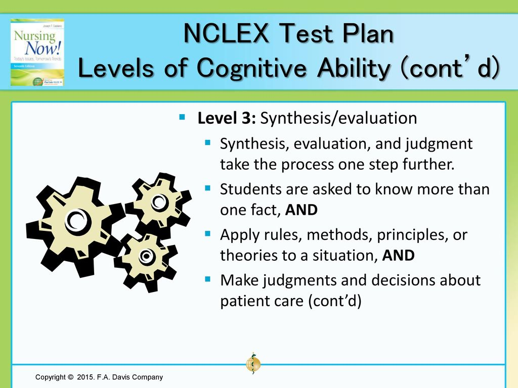 Chapter 9 NCLEX Test Plan - ppt download