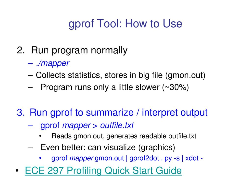 Measuring Where CPU Time Goes - ppt download