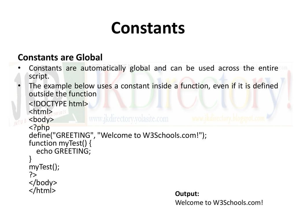 Pass by reference php w3schools