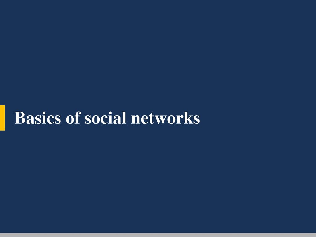 Classroom network analysis - ppt download