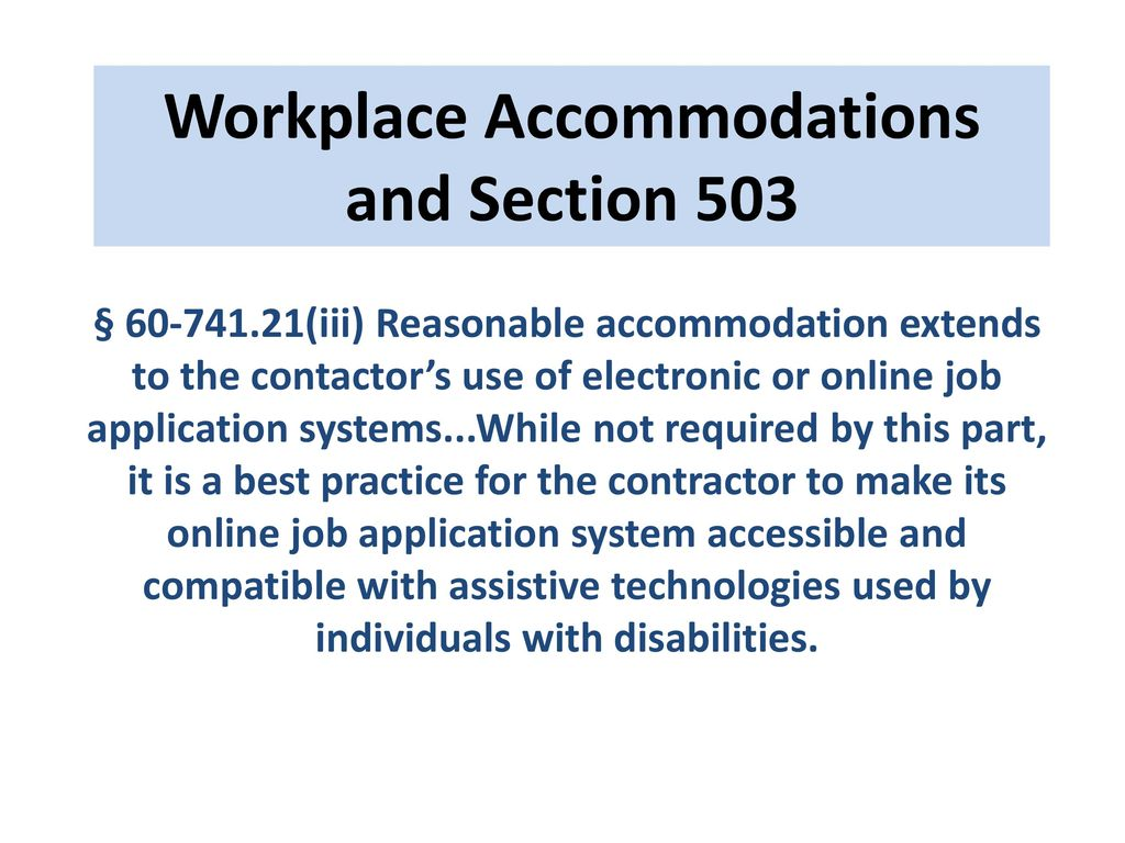 Reasonable Accommodations Extend To >> Revolutionizing Work Place Accommodation Ppt Download