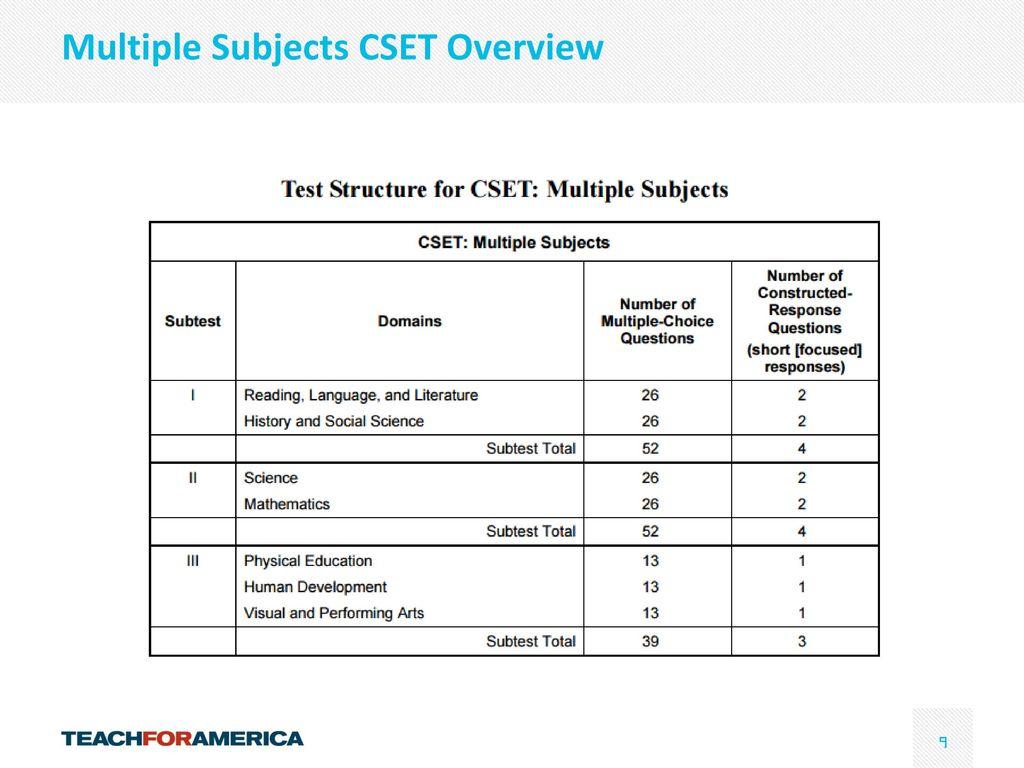 Cset life science practice test