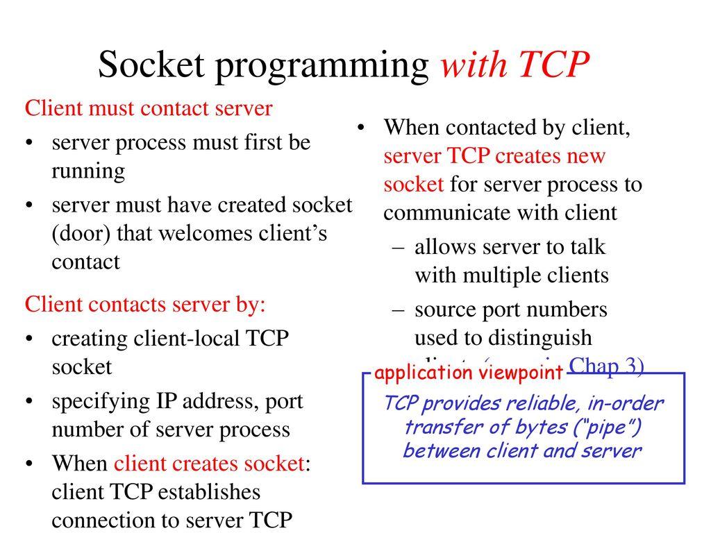 Socket programming in C - ppt download