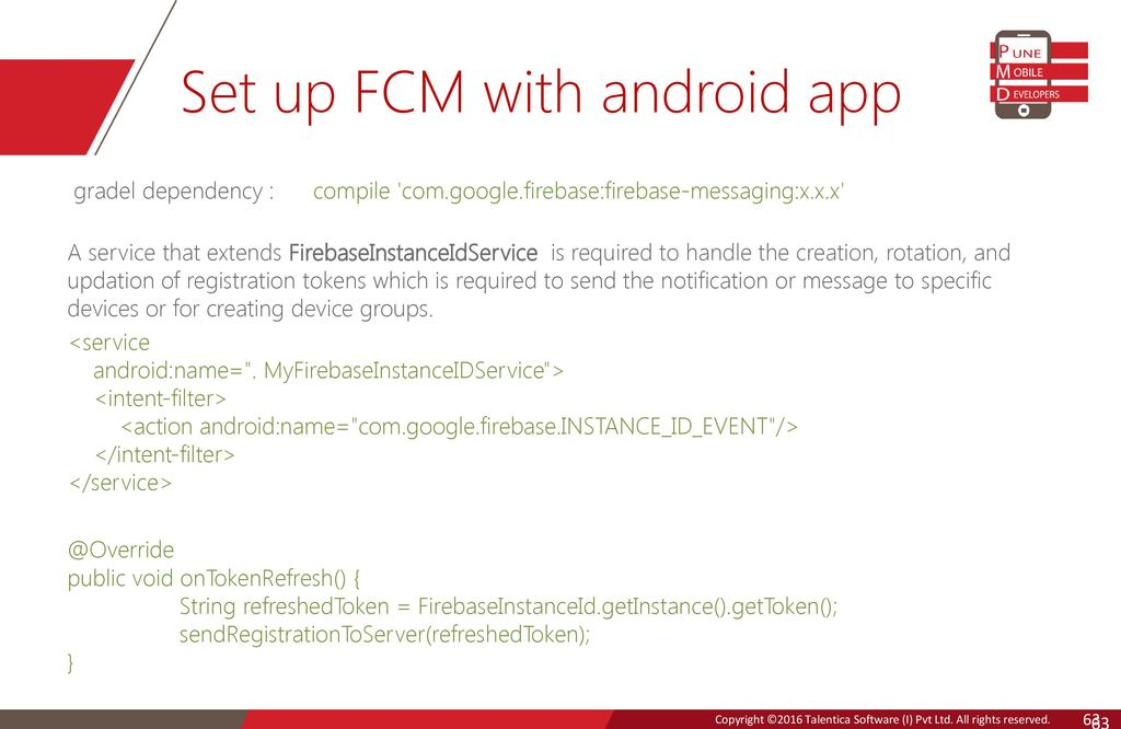 Firebase And android… Kaushal Dhruw Shakti Moyal  - ppt download