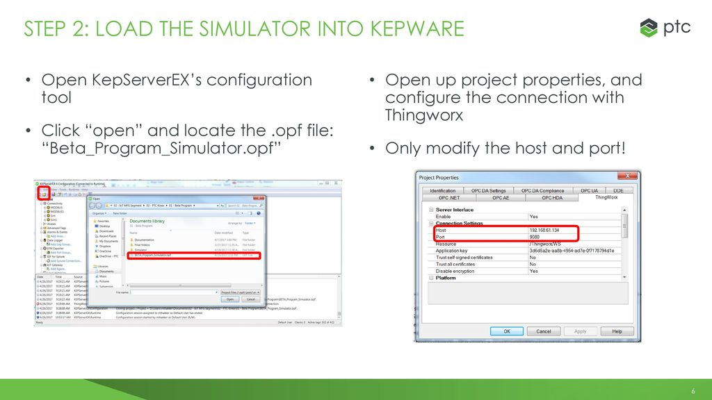 Installing & COnfiguring the thingworx for Manufacturing DEMO