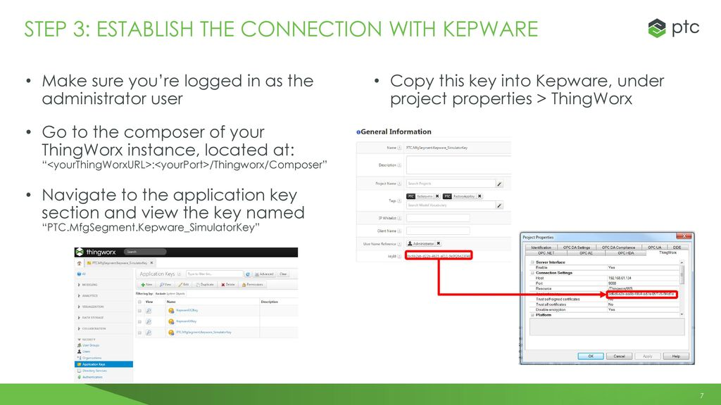 Installing & COnfiguring the thingworx for Manufacturing