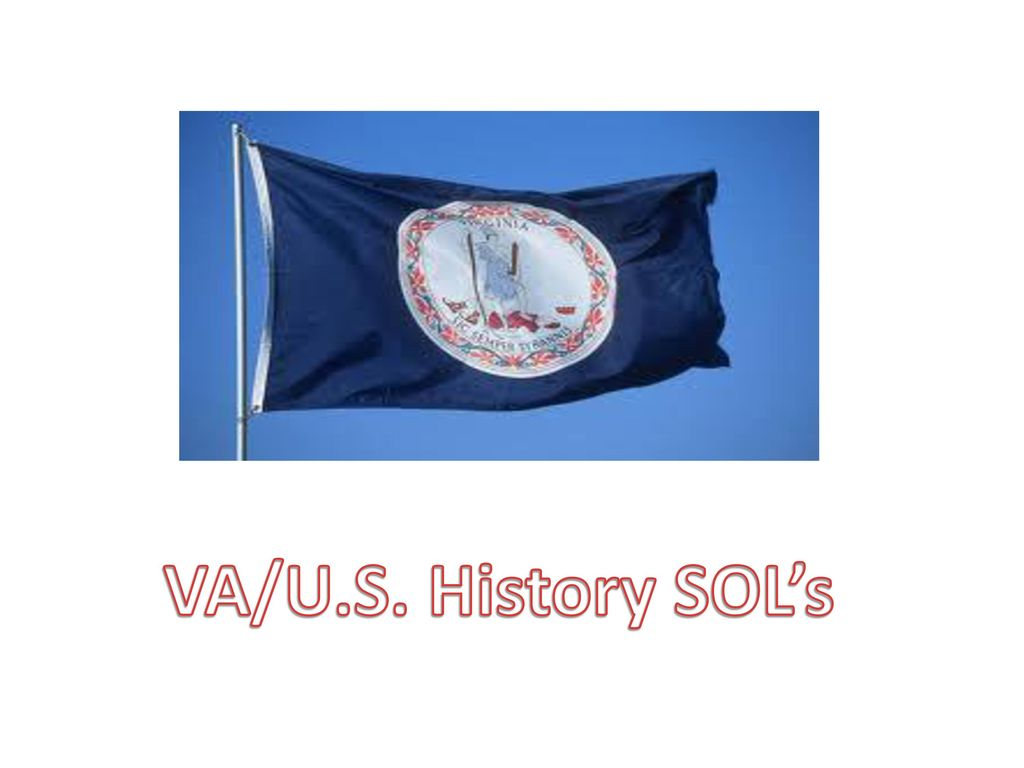 va and us history sol
