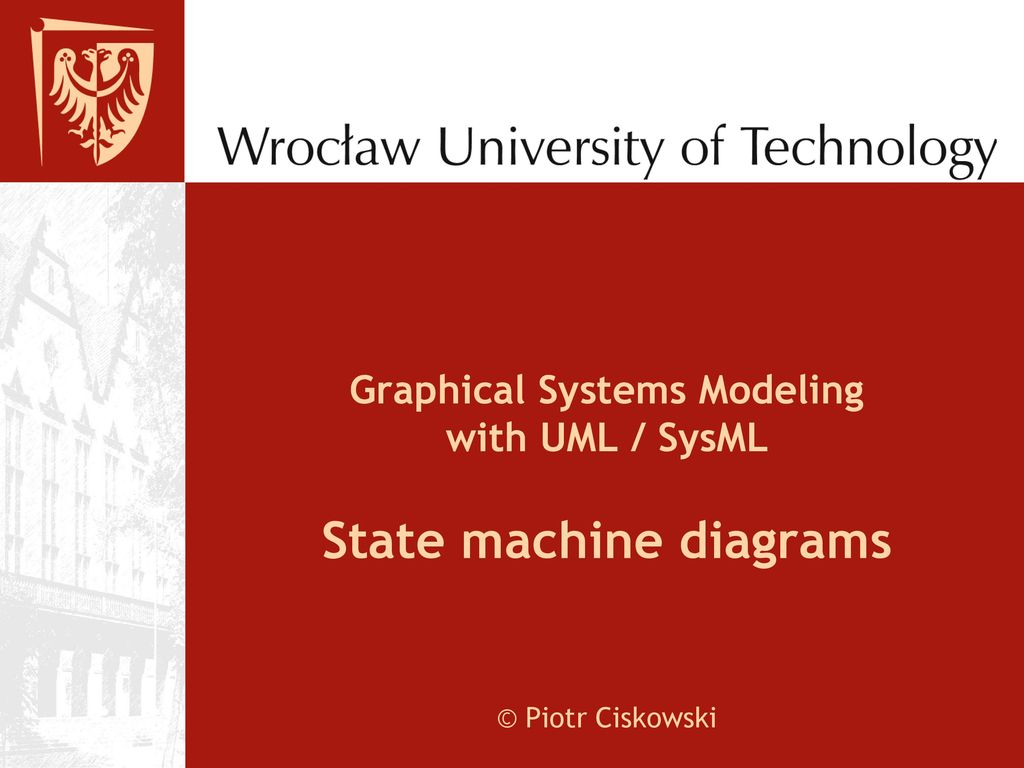 Graphical Systems Modeling With Uml Sysml State Machine Diagrams An Example Of Behavioral Diagram For A Bank Atm