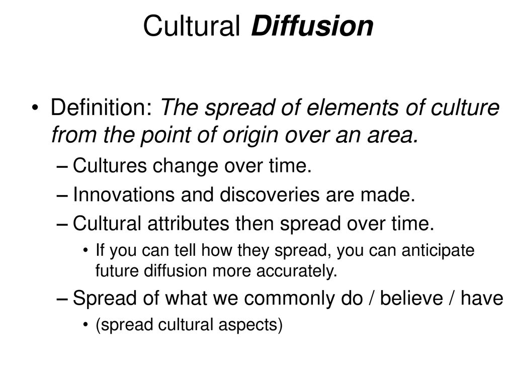 functional cultural region - ppt download