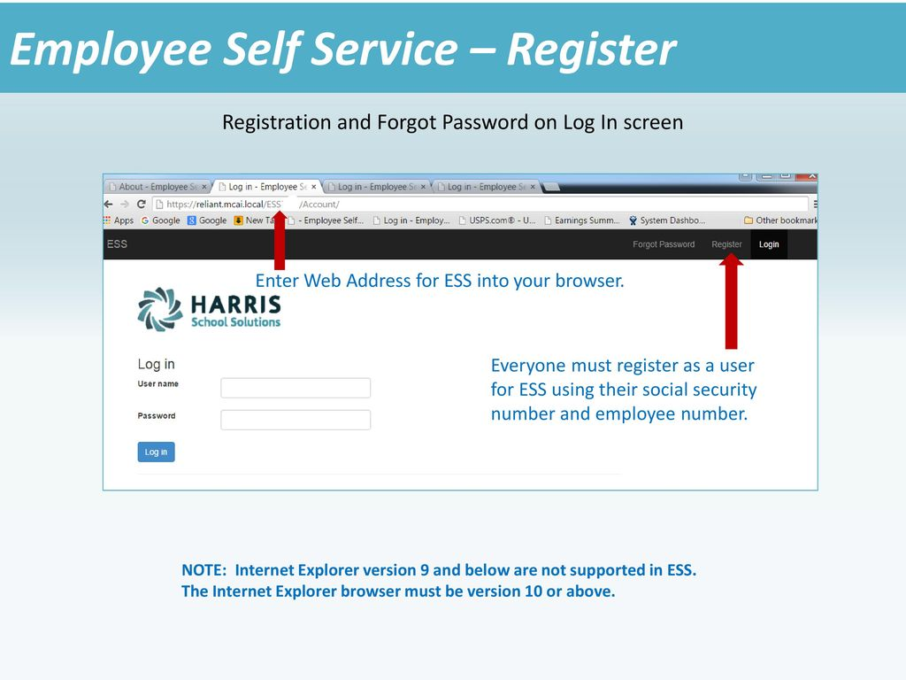 Employee Self Service Lite Version ppt download
