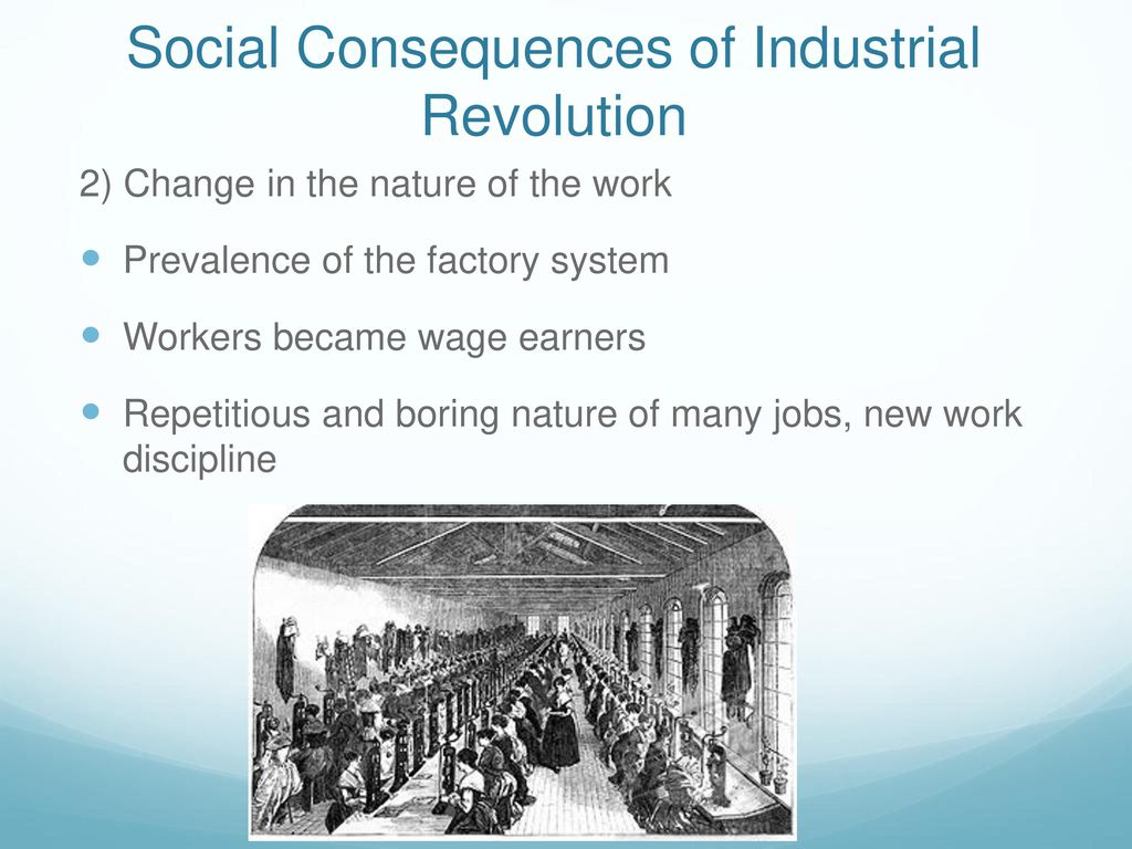 Industrial Revolution: the nature and consequences 37