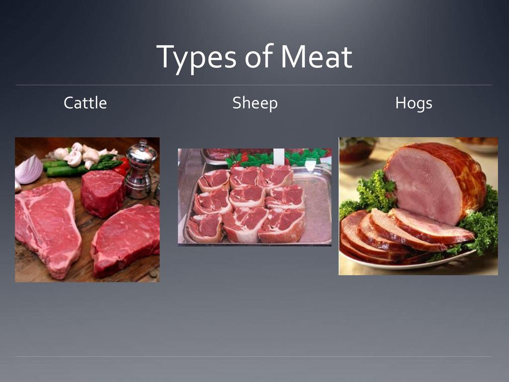 Meat Nutrition and Foods ppt download