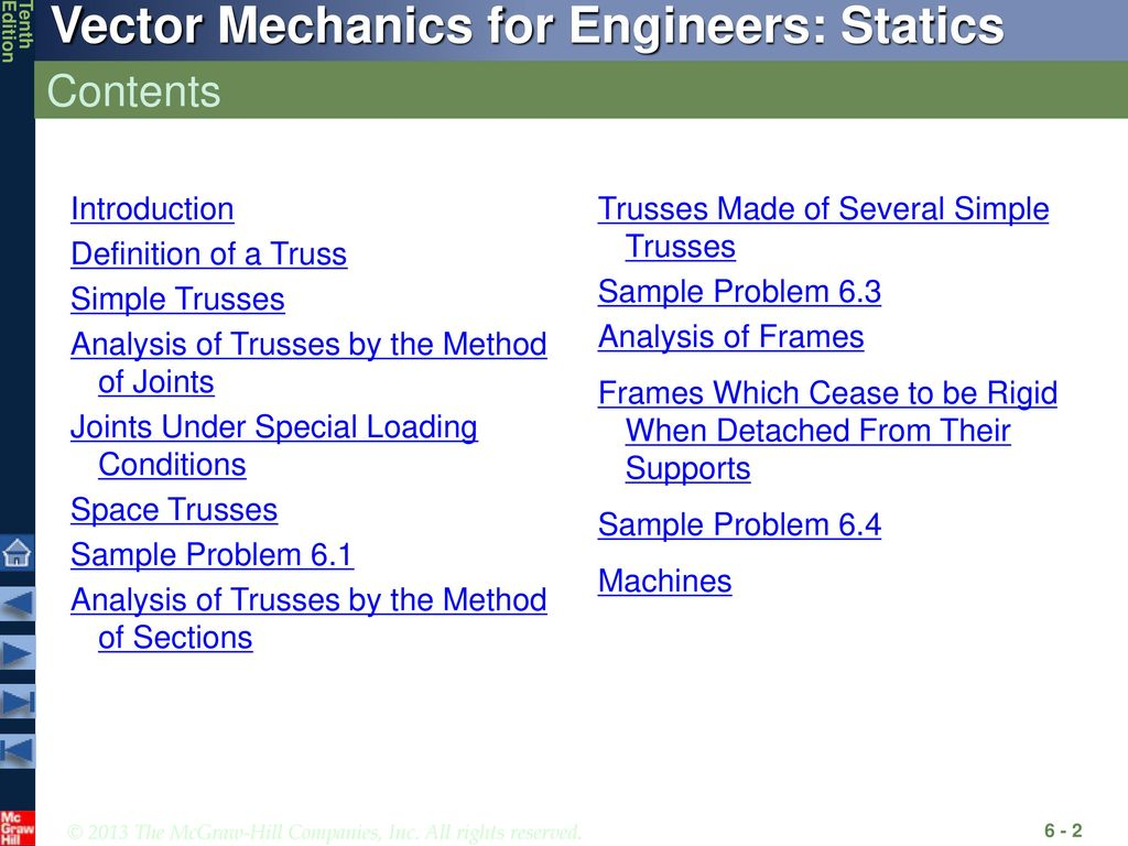 Analysis Of Structures Ppt Download Engineering Statics Free Body Diagram Frames Examples Youtube Contents Introduction Definition A Truss Simple Trusses