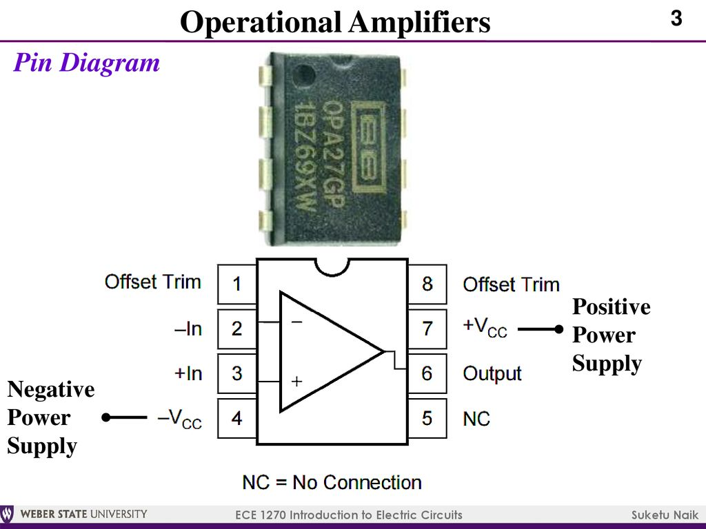 Ece 1270 Introduction To Electric Circuits Ppt Download Subwoofer Filter With Lm741 Operational Amplifiers
