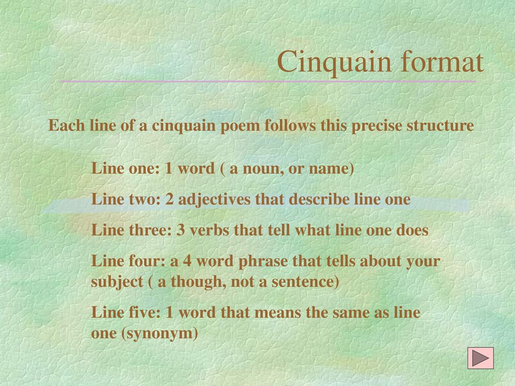 A Quick Review of Some Popular Forms of Poetry - ppt download