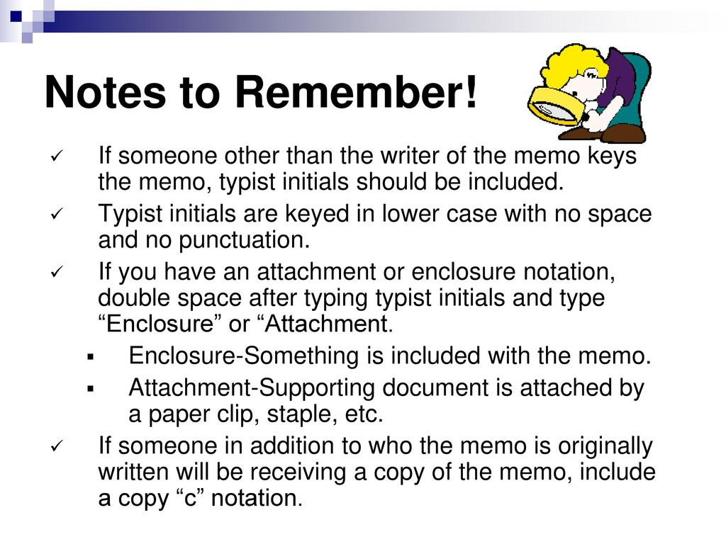 Memorandums And Letters Ppt Download