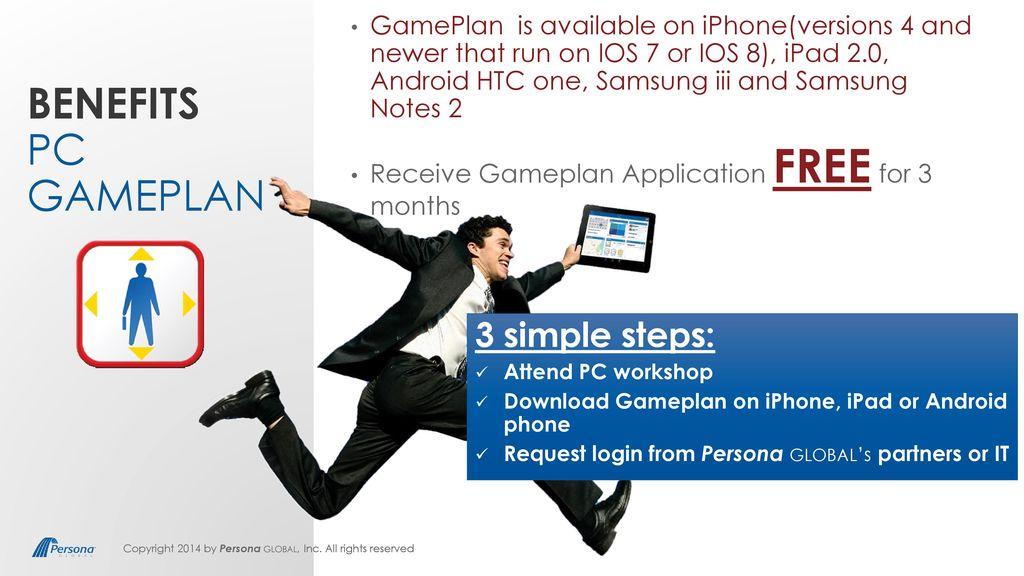 PC Gameplan Application  - ppt download
