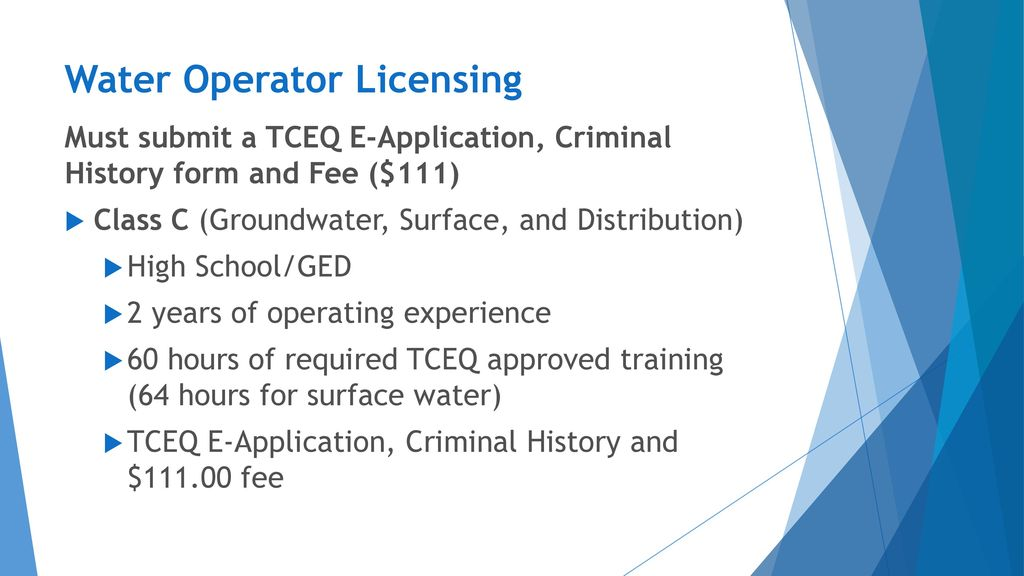 New Licensing And Renewal Requirements Ppt Download