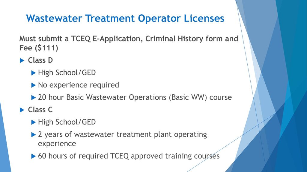 New Licensing and Renewal Requirements - ppt download