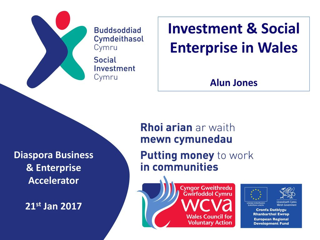 Investment & Social Enterprise in Wales - ppt download