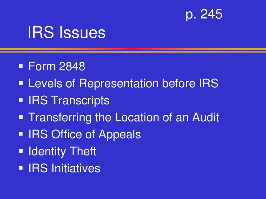 Irs Issues Chapter 8 Pp National Income Tax Workbook Ppt Download