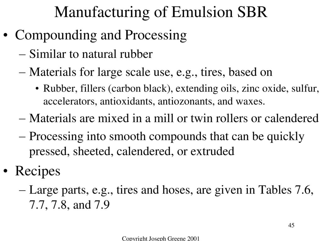 Classes of Polymeric Materials Elastomers - ppt download