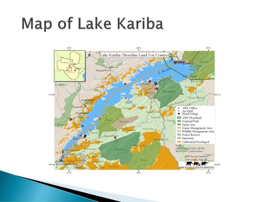 Lake Kariba Africa Map.Fisheries Management On Lake Kariba Ppt Download