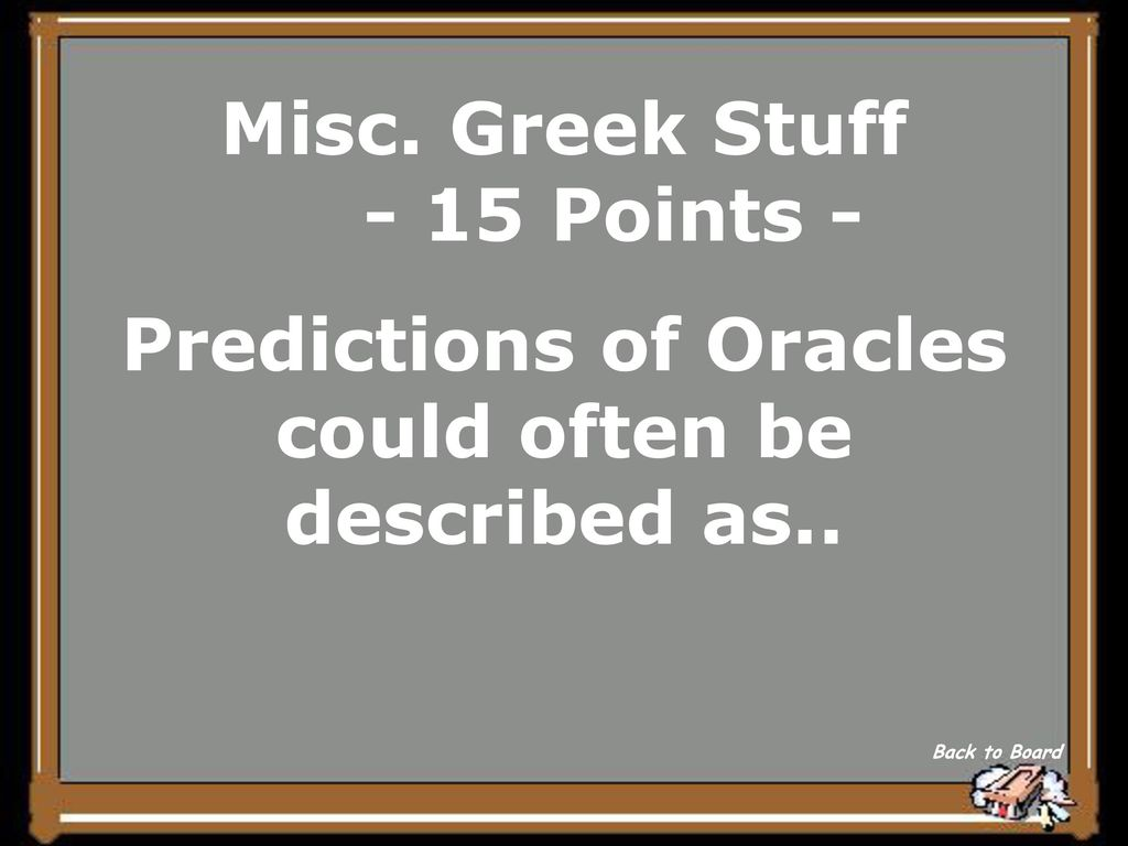 Welcome To Greek Jeopardy!  - ppt download