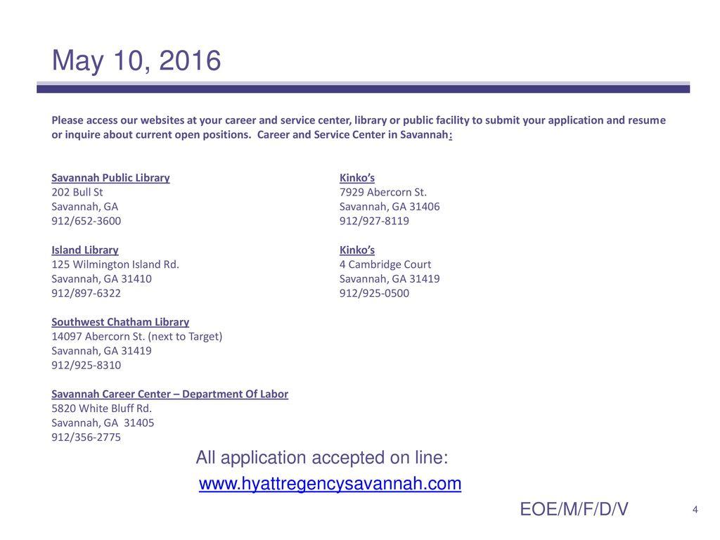 Hyatt Regency Savannah - ppt download