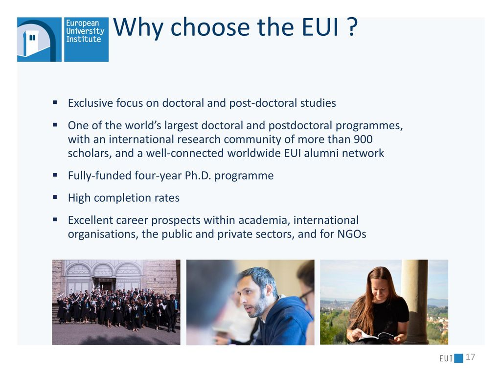 EUI The European University Institute  - ppt download