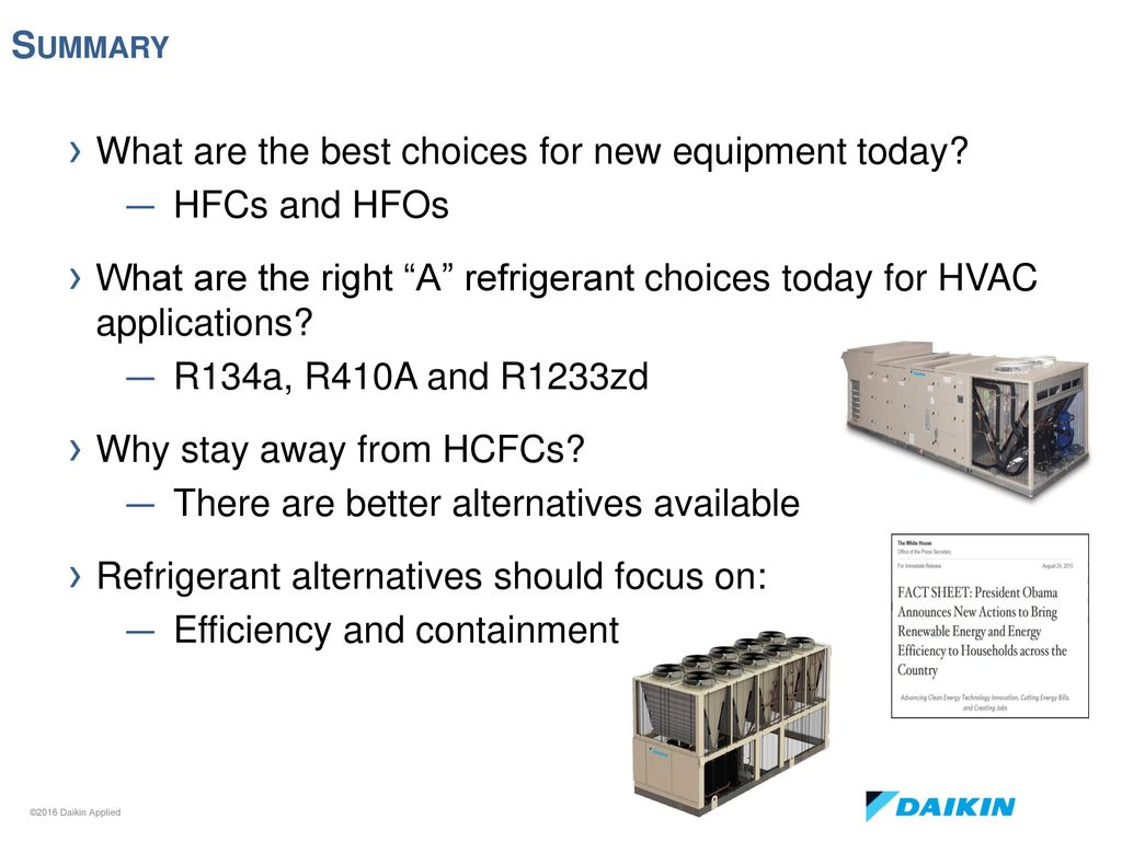 Refrigerants – Where Are We Headed in North America? - ppt