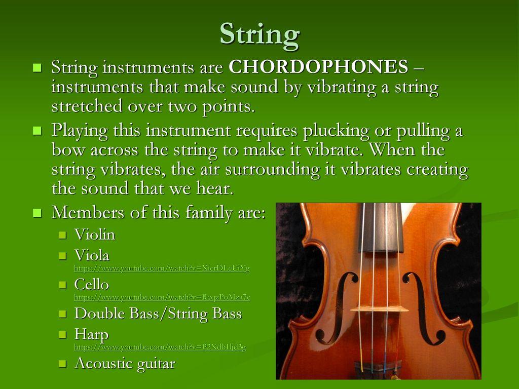 Musical Instruments Grade Nine Music  - ppt download