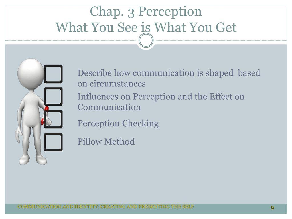 pillow method interpersonal communication